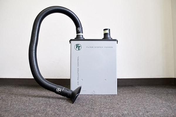 VOC対策 有機溶剤吸引空気清浄器 画像2
